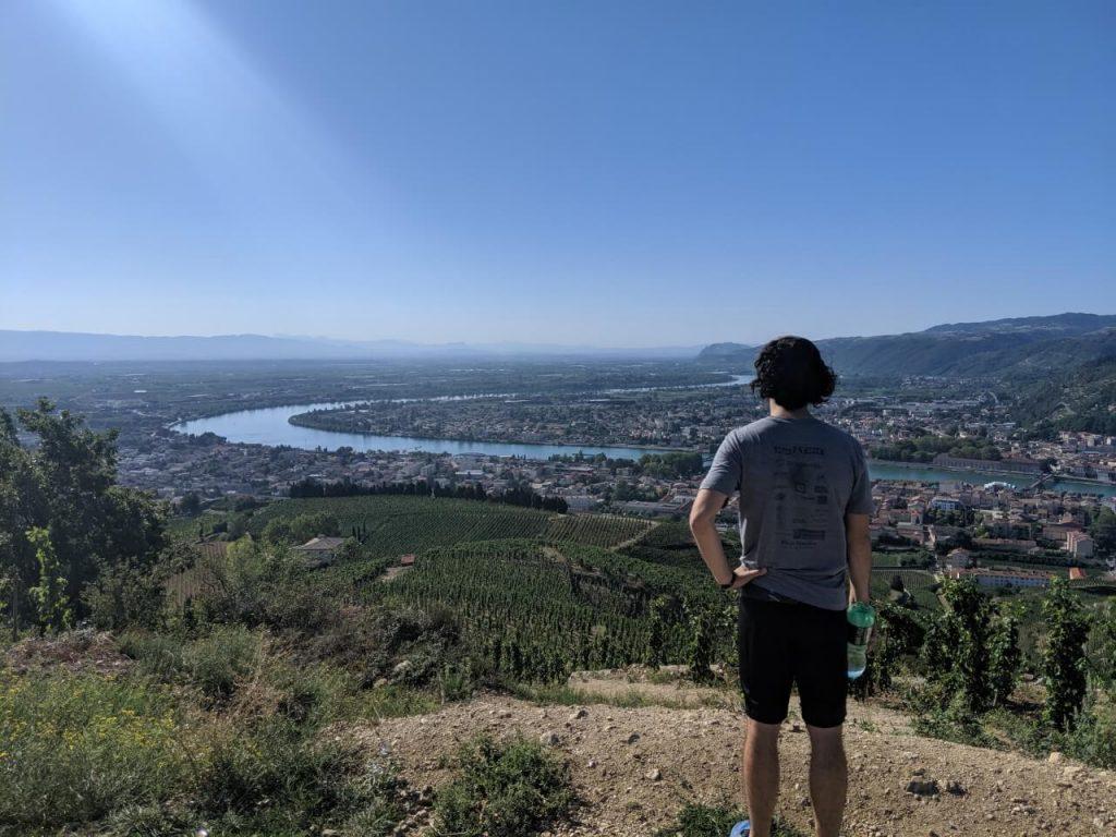 Rhone France Hike