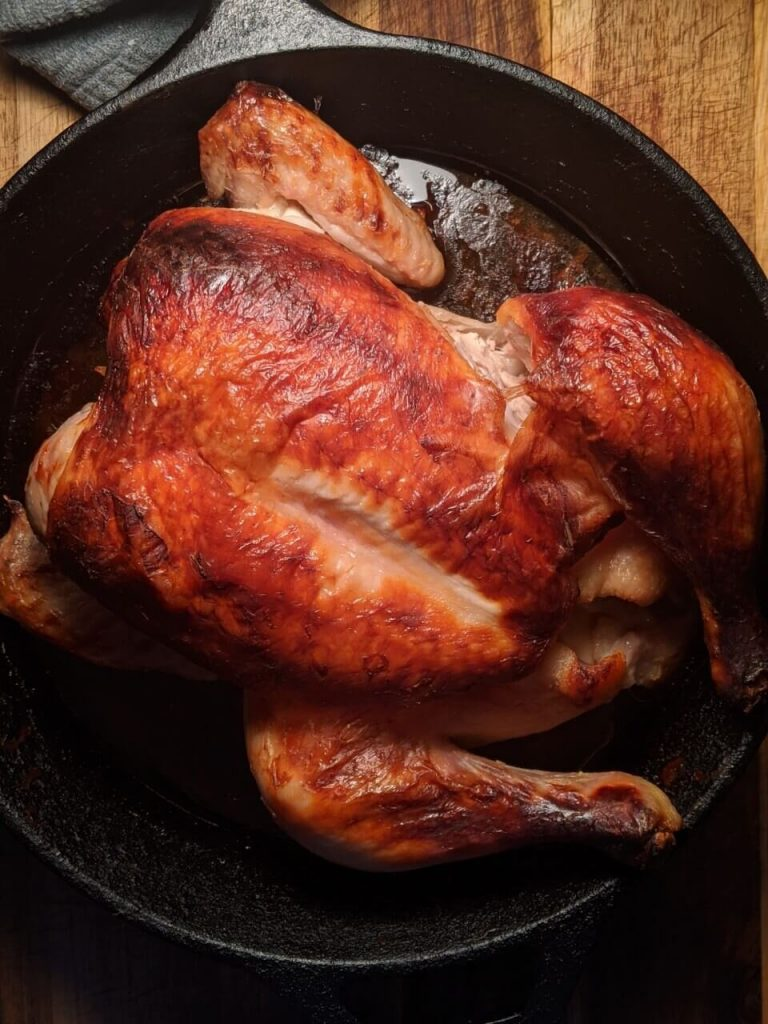 Buttermilk Marinated Roast Chicken Recipe