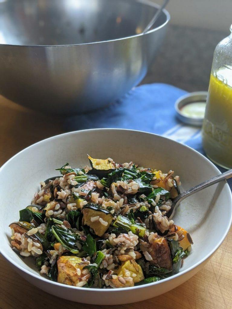 Easy Wild Rice Salad