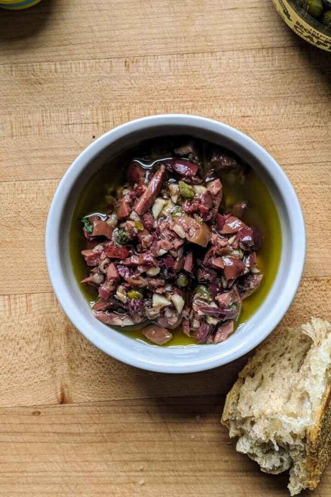 Olive Tapenade Dip-featured