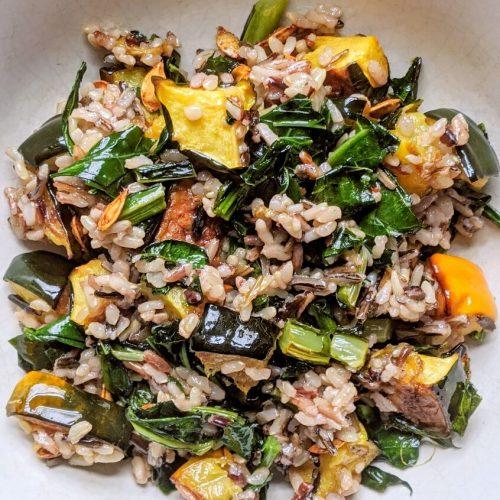 Winter Squash and Wild Rice Salad