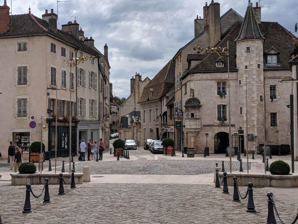Beaune France Streets