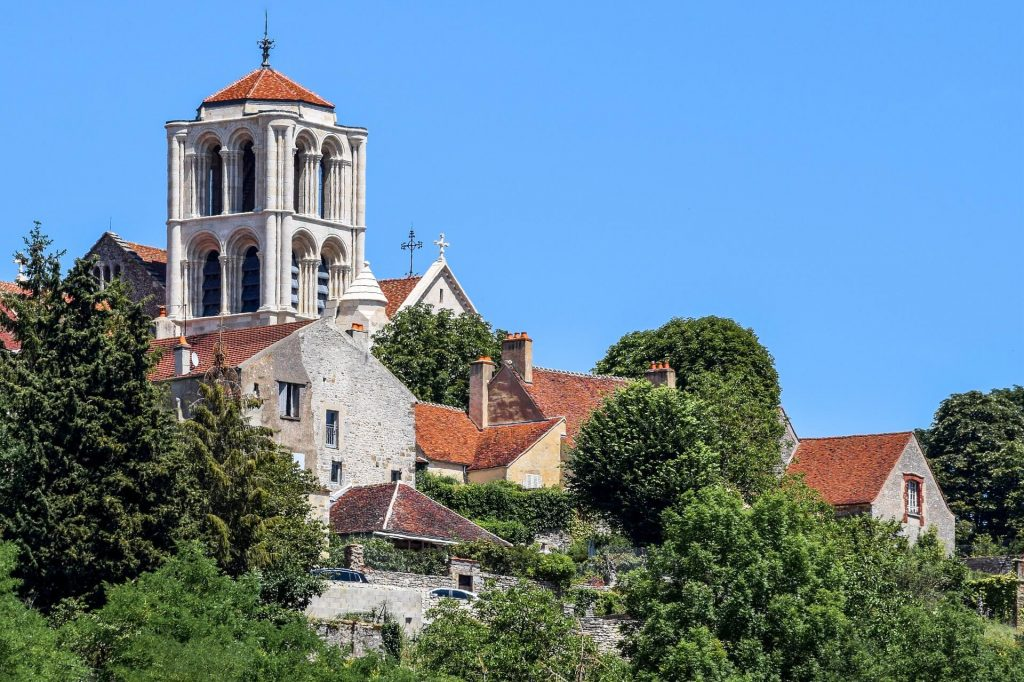 Vezelay Burgundy France