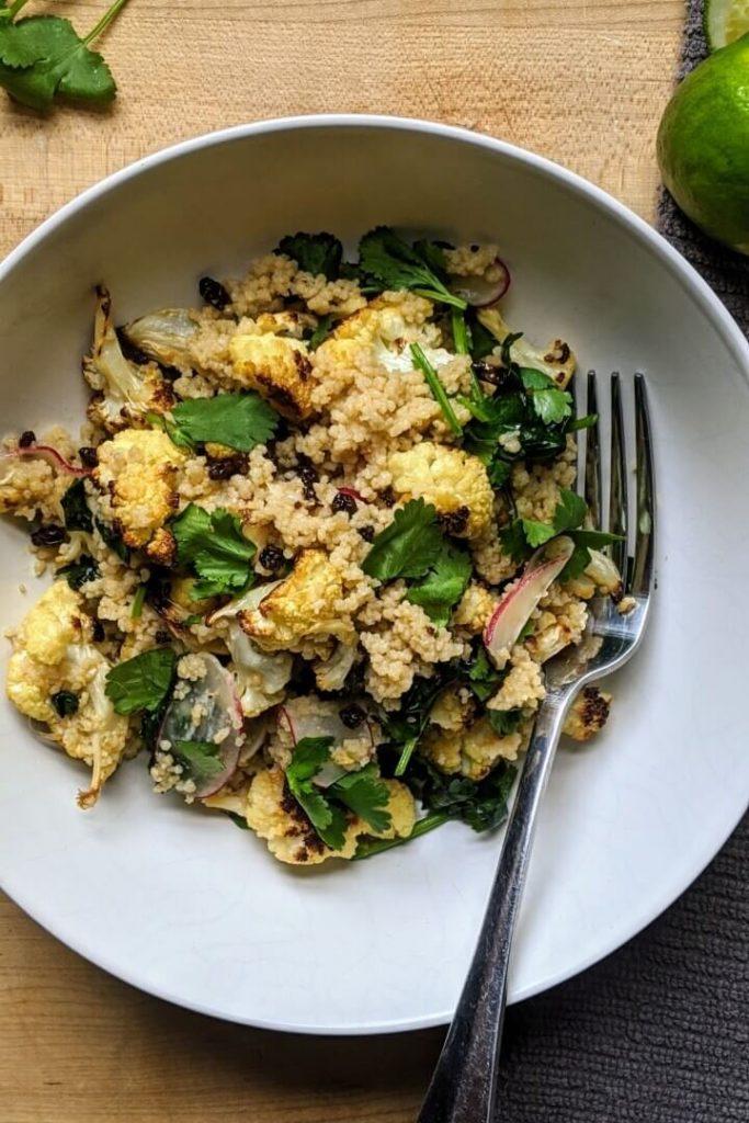 Cilantro and Lime Couscous Salad
