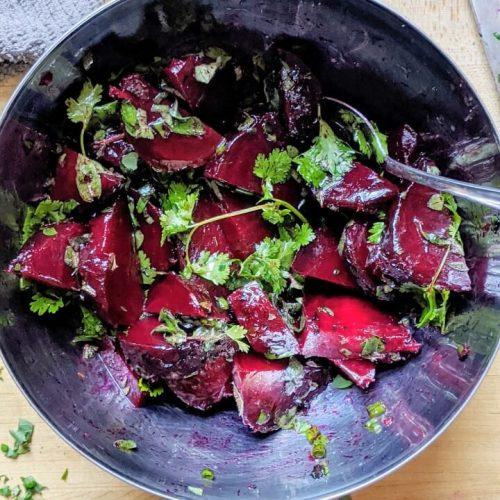 Grilled Beets Salad