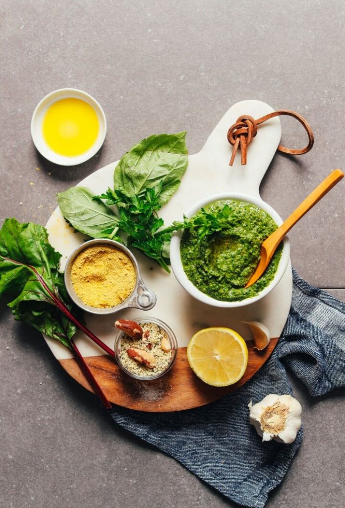 Super Green Vegan Pesto