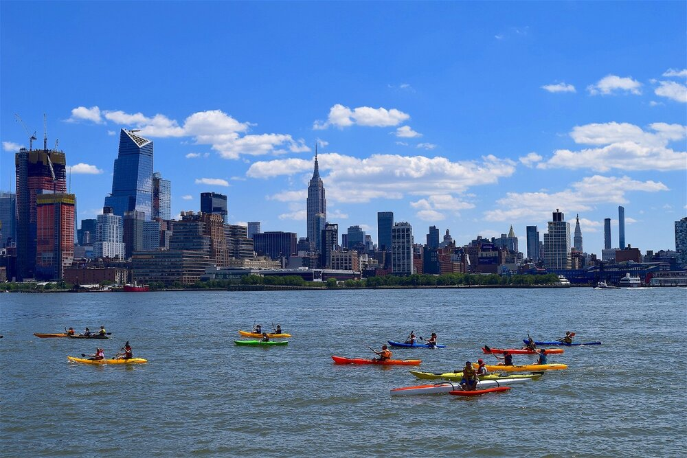 Free Kayaking in NYC