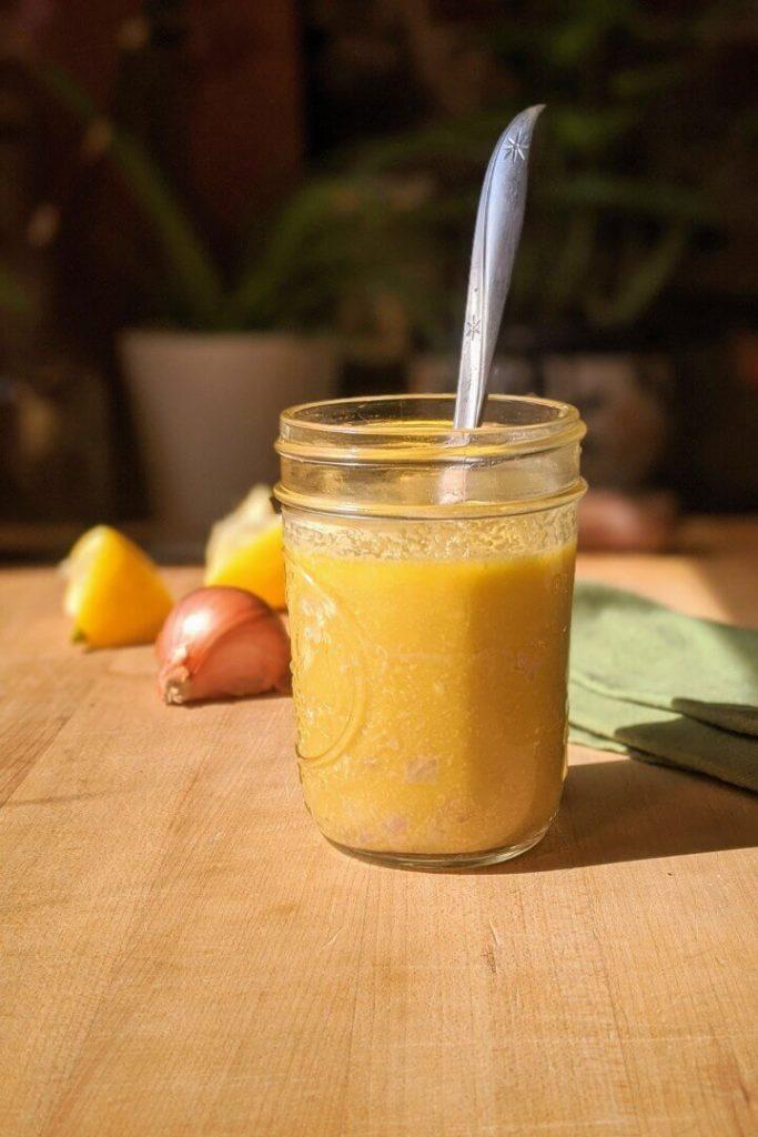Lemon Mustard Vinaigrette Recipe