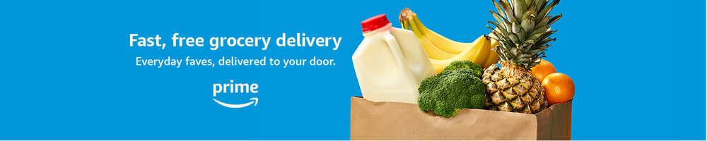 Amazon Fresh and Whole Foods Market Delivery