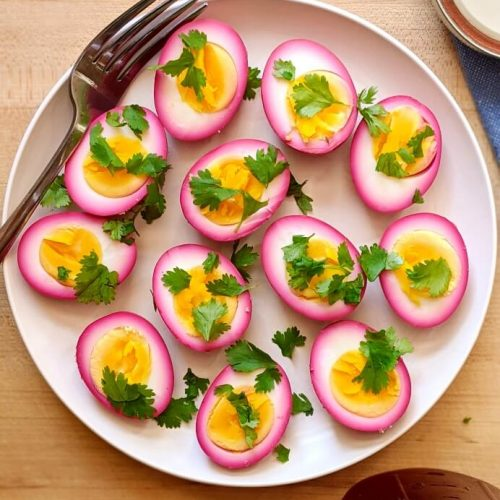Beet Pickled Eggs Recipe