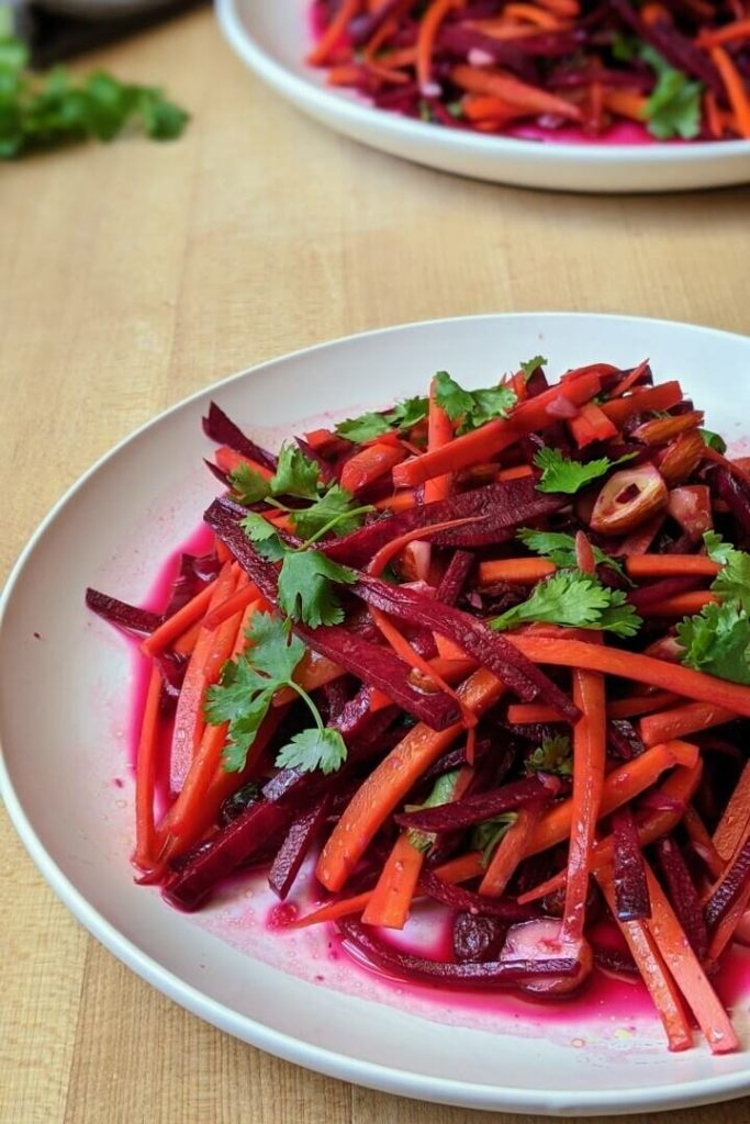 Beet Slaw Close Up