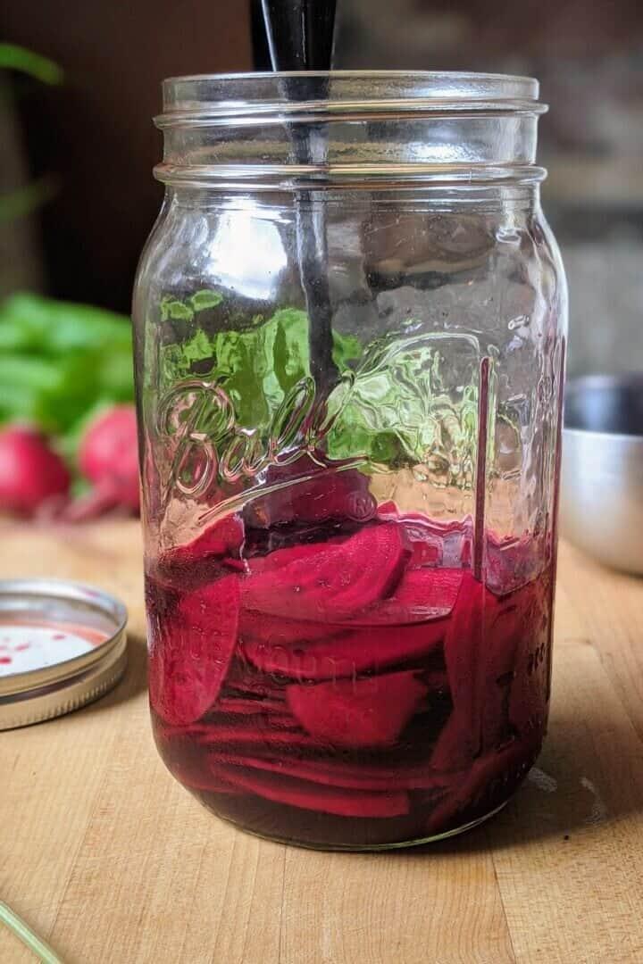 Refrigerator Pickled Beets Recipe