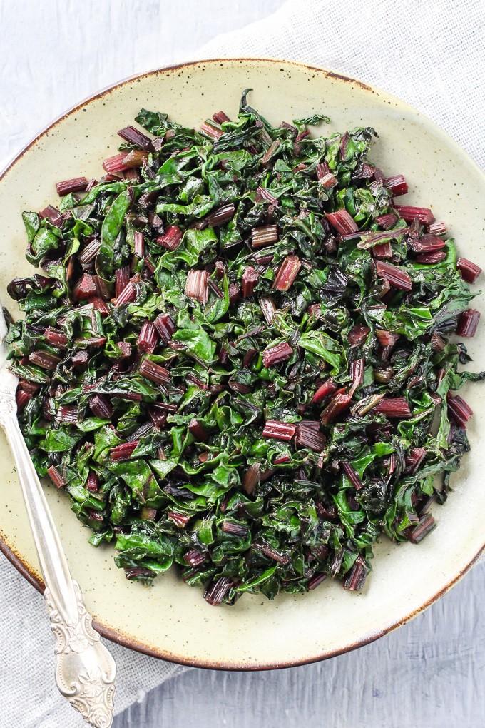 Sauteed Beet Green Recipe