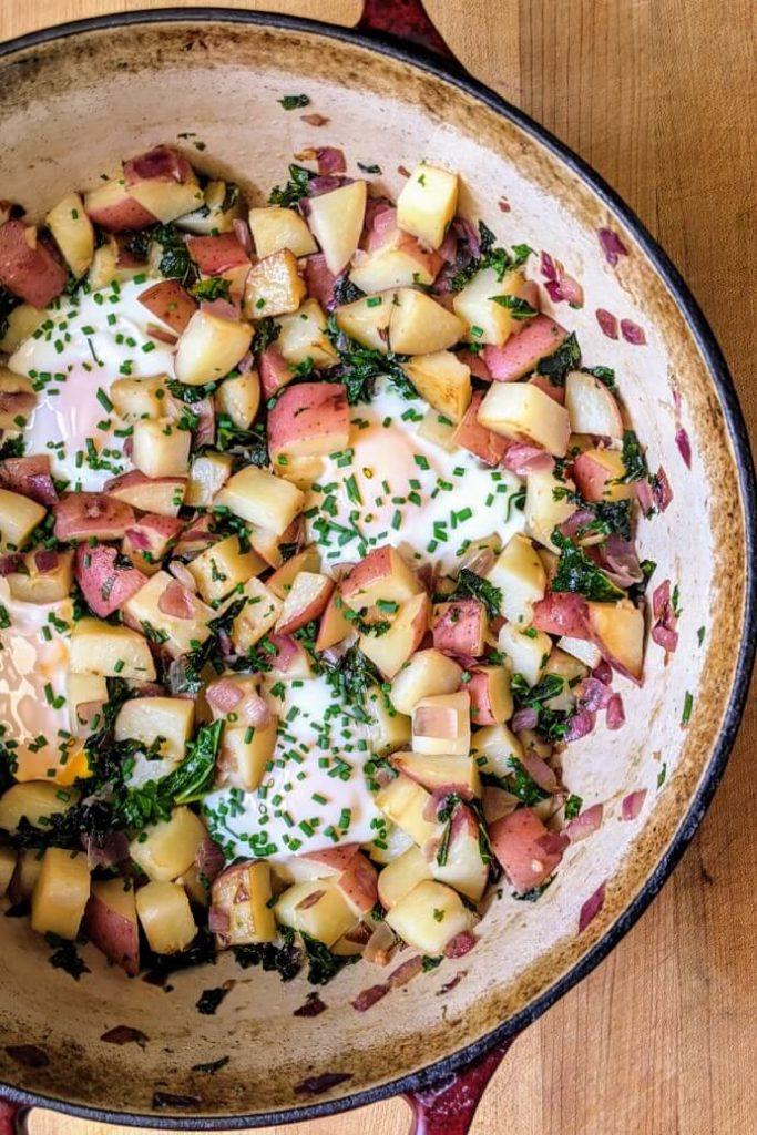 Egg and Potato Hash