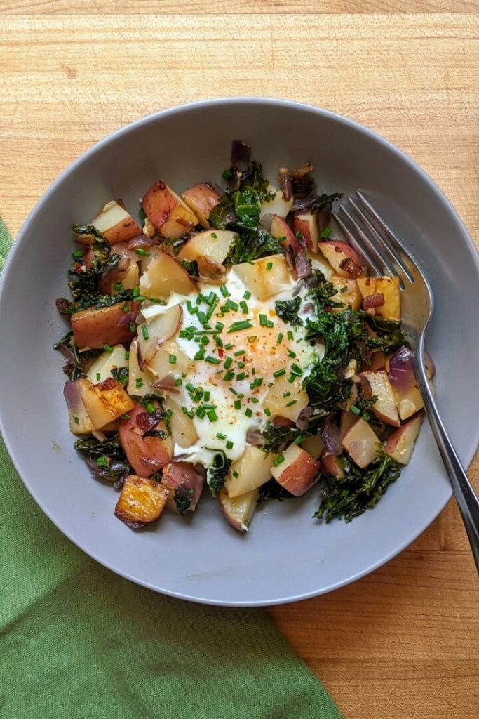 Egg and Potato Hash