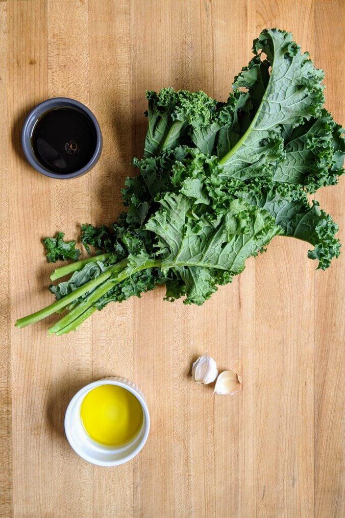 sauteed kale ingredients
