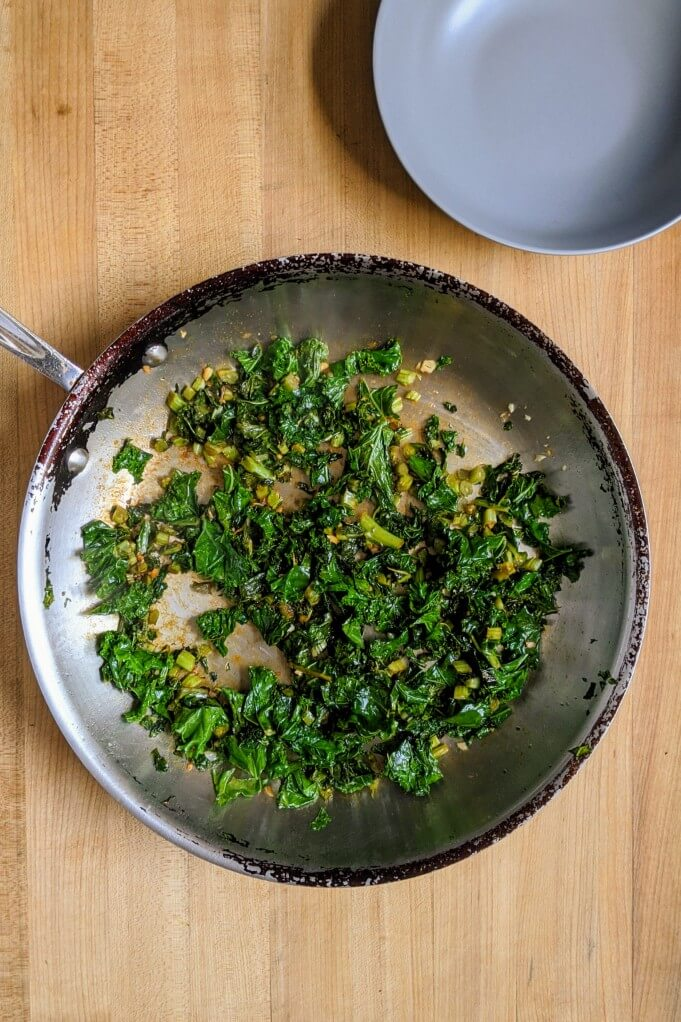 sauteed kale recipe instructions