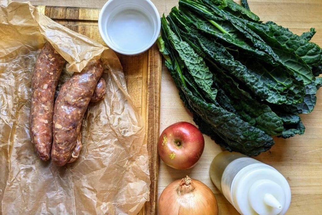 Baked Sausage Ingredients