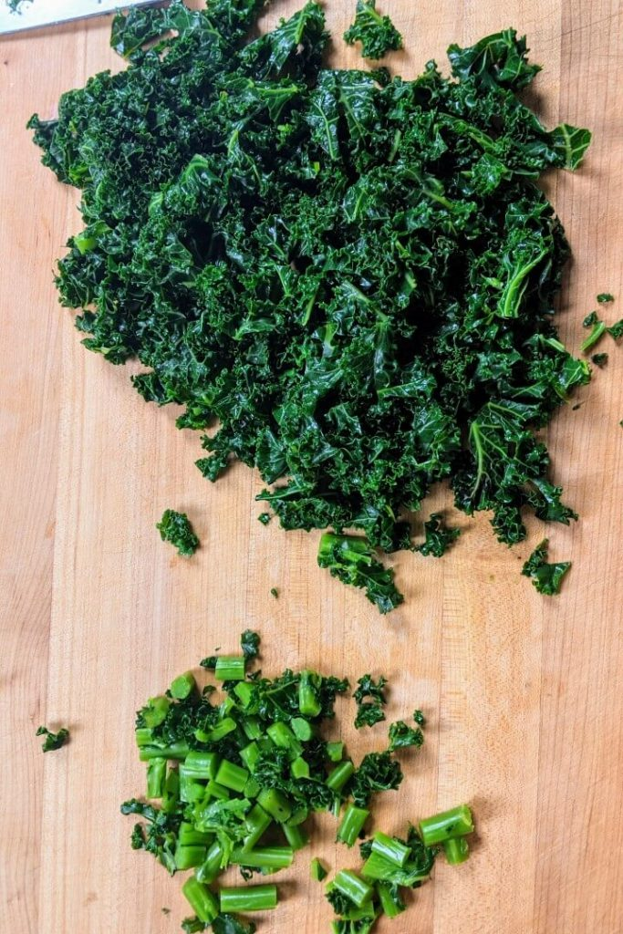 How to Blanch Kale
