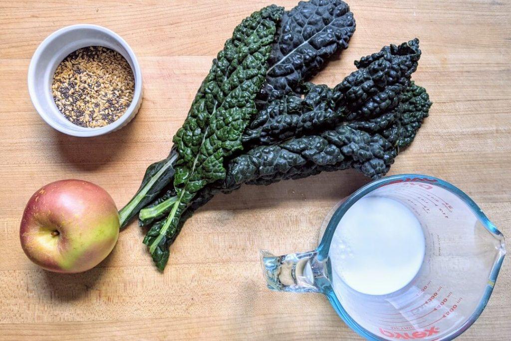 Kale Apple Smoothie Ingredients