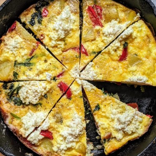 Ricotta and Potato Frittata